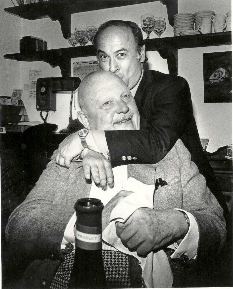 James Beard with Joe Baum